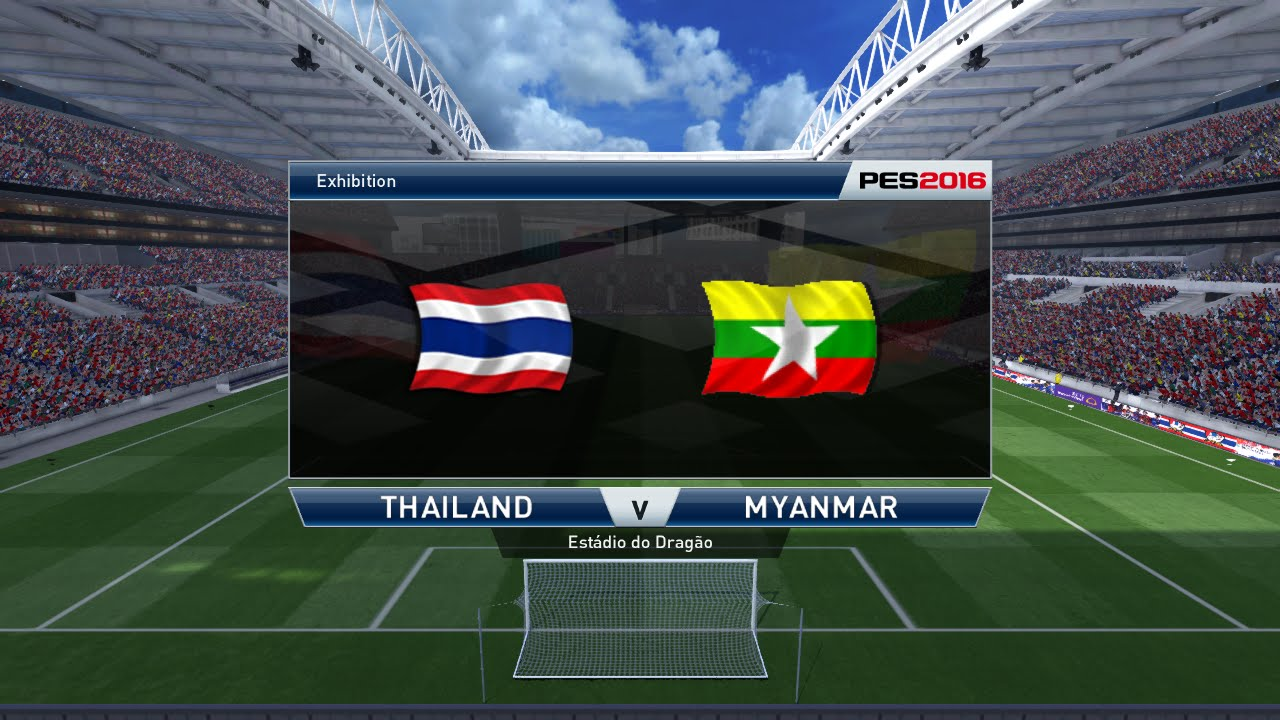 Pes  Thailand Vs Myanmar Full Match