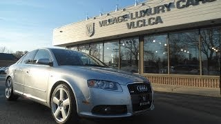 2008 Audi A4 [S-Line] in review - Village Luxury Cars Toronto