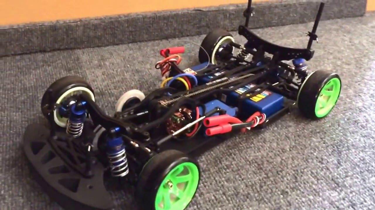 Hobbyking Mission D rc drift car - YouTube