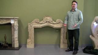 Fireplace Mantle, Old Fireplace Mantels, Modesto, Mantels