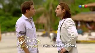 """""""Flor del Caribe"""" Martes 30/9 por Telefe."""