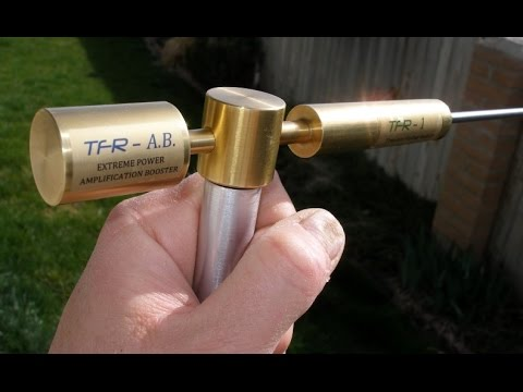 Long Range Locator TFR-1 Amplification Booster Demo Part -1