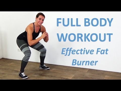 Full Body Workout for Women - 20 Minute Daily Exercise at Home for Women - No Equipment