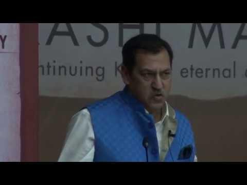 Lt. Gen. Rakesh Sharma at Kashi Manthan - 2018 (1)