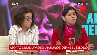 Aborto legal: debate en Minuto a Minuto (Parte 1)