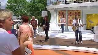Smokie   Needles And Pins ZDF Fernsehgarten   18 MAY 2014