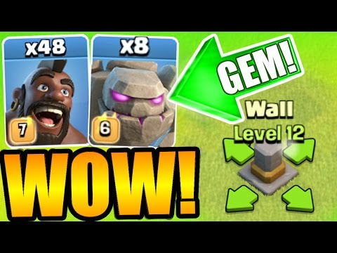 NEW UPDATE GEM SPREE! - NEW LEVELS + EVENTS IN CLASH OF CLANS!