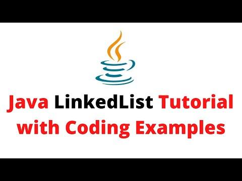 Java LinkedList Tutorial | Coding Examples