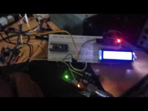 Arduino Audio VU Meter Stereo I2C LCD 16X2