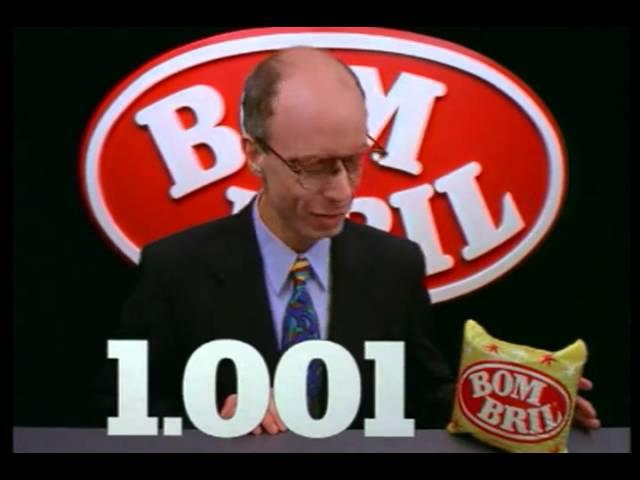 Comercial BOMBRIL - continua com 1001 utilidades