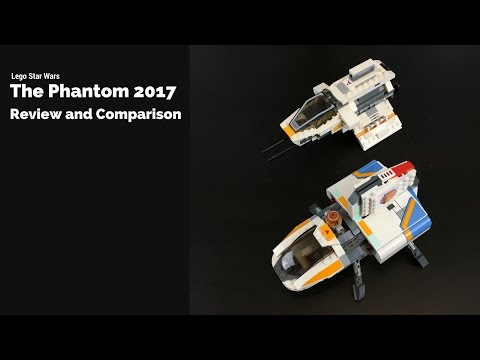 Lego Star Wars - The Phantom 75170 review and comparison
