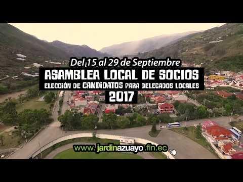 Jardín Azuayo Asambleas Locales 2017