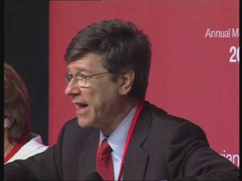 Jeffrey Sachs (The Earth Institute, Columbia University)