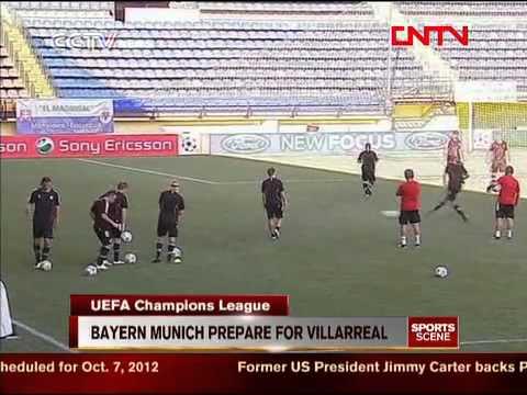 UEFA Champions League: Bayern Munich prepares for villarreal CCTV News