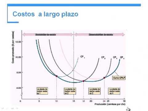 Costos A Largo Plazo Y Economas De Escala CESUN Universidad Tijuana Curso Microeconomia