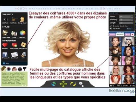 essai coiffure virtuel gratuit - YouTube