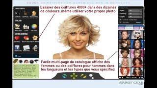 Essayez Coiffures Online Telecharger Photo Simulateur De Coiffure Virtuelle Pour Hommes Femmes Youtube