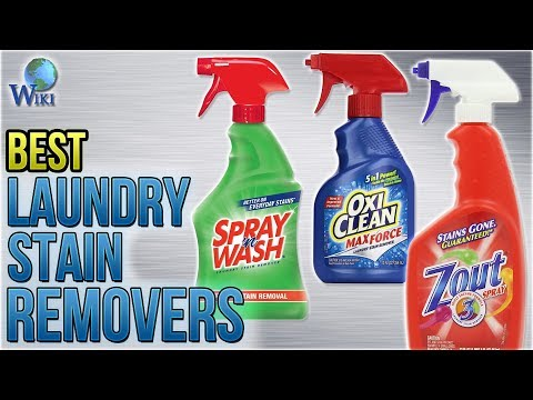 10 Best Laundry Stain Removers 2018