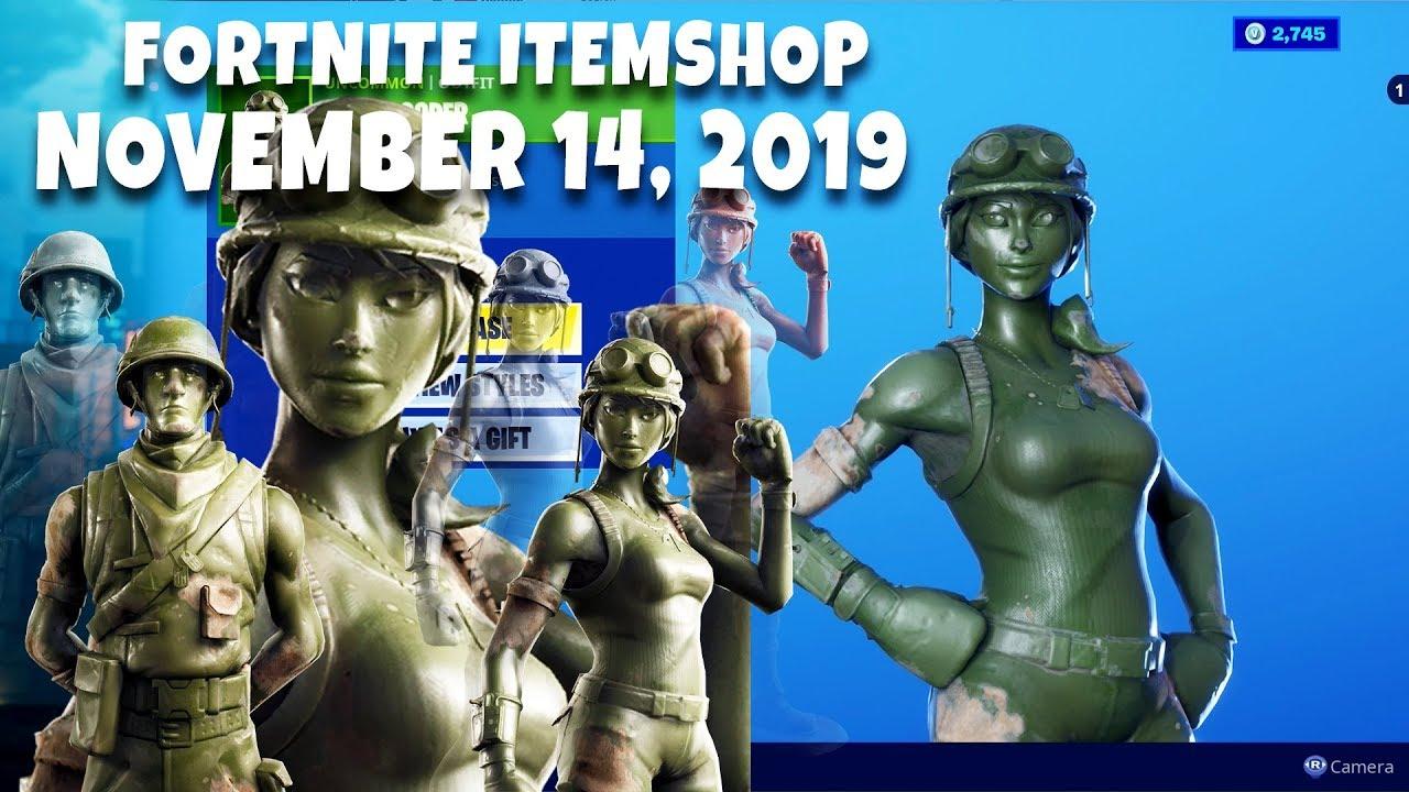 *NEW* TOY TROOPER and PLASTIC PATROLLER Return!! Fortnite item shop (November 14, 2019) [Fortnite]