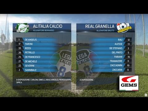 Alitalia Calcio 5-1 Real Granella   Serie A - 20ª   Highlights