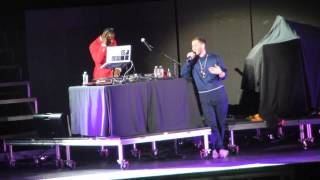 Mike Posner Opening Up For Justin Bieber In Chicago 2013