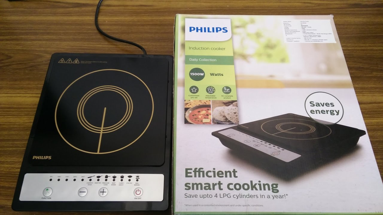 Philips Induction Cooktop HD4920 Unboxing and Review | Best Induction Cook  Top in India