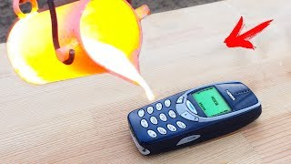 EXPERIMENT:  LAVA VS NOKIA 3310