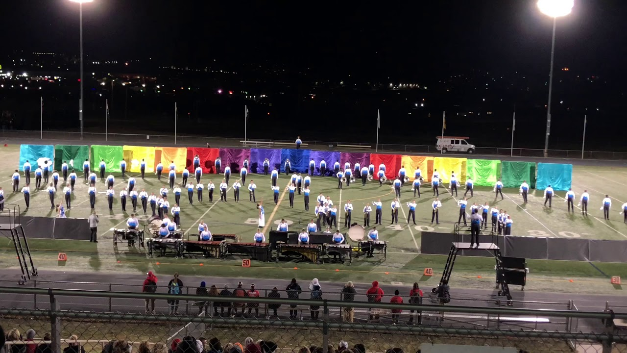 Douglas County Marching Band Invitational - Night Performance For Liberty High School