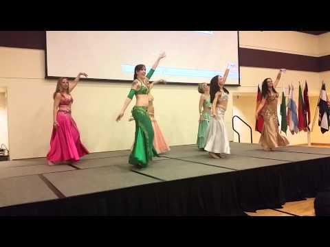 Bella Diva @ DU Culture Fest 2015 - Belly Dancers