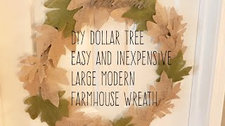 dollar tree fall diy