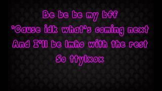 Bella Thorne-TTYLXOX(Lyrics)