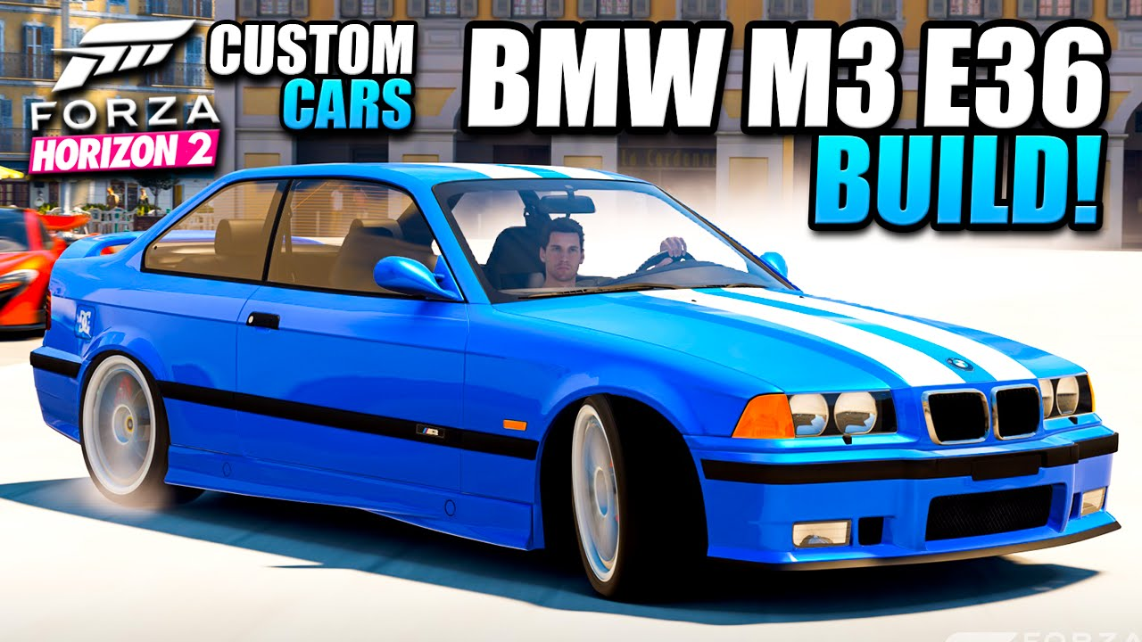 FH2 Custom Cars - BMW M3 E36 Drift Build - 30 Years Of The ...