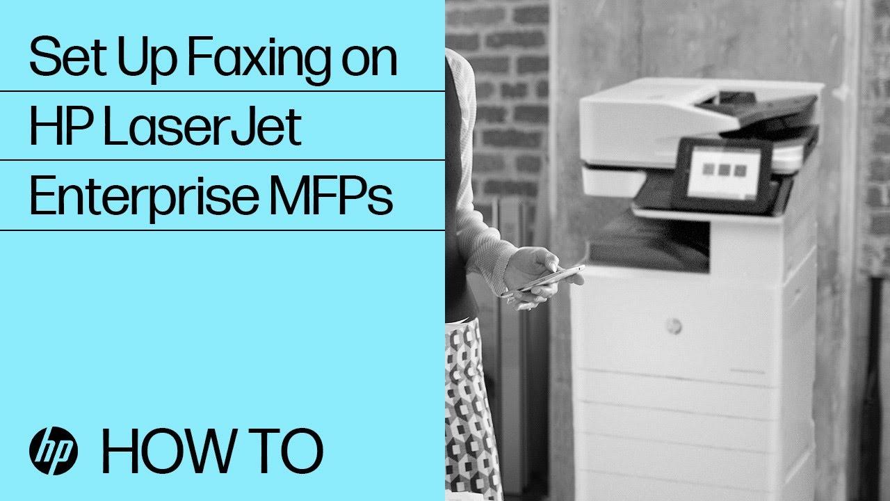 HP Fax hook up