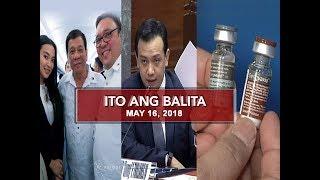 UNTV: Ito Ang Balita (May 16, 2018)
