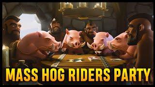 Th9 Four Heal GoHo (Golem + Hog Rider) | Part 9 | Clash of Clans