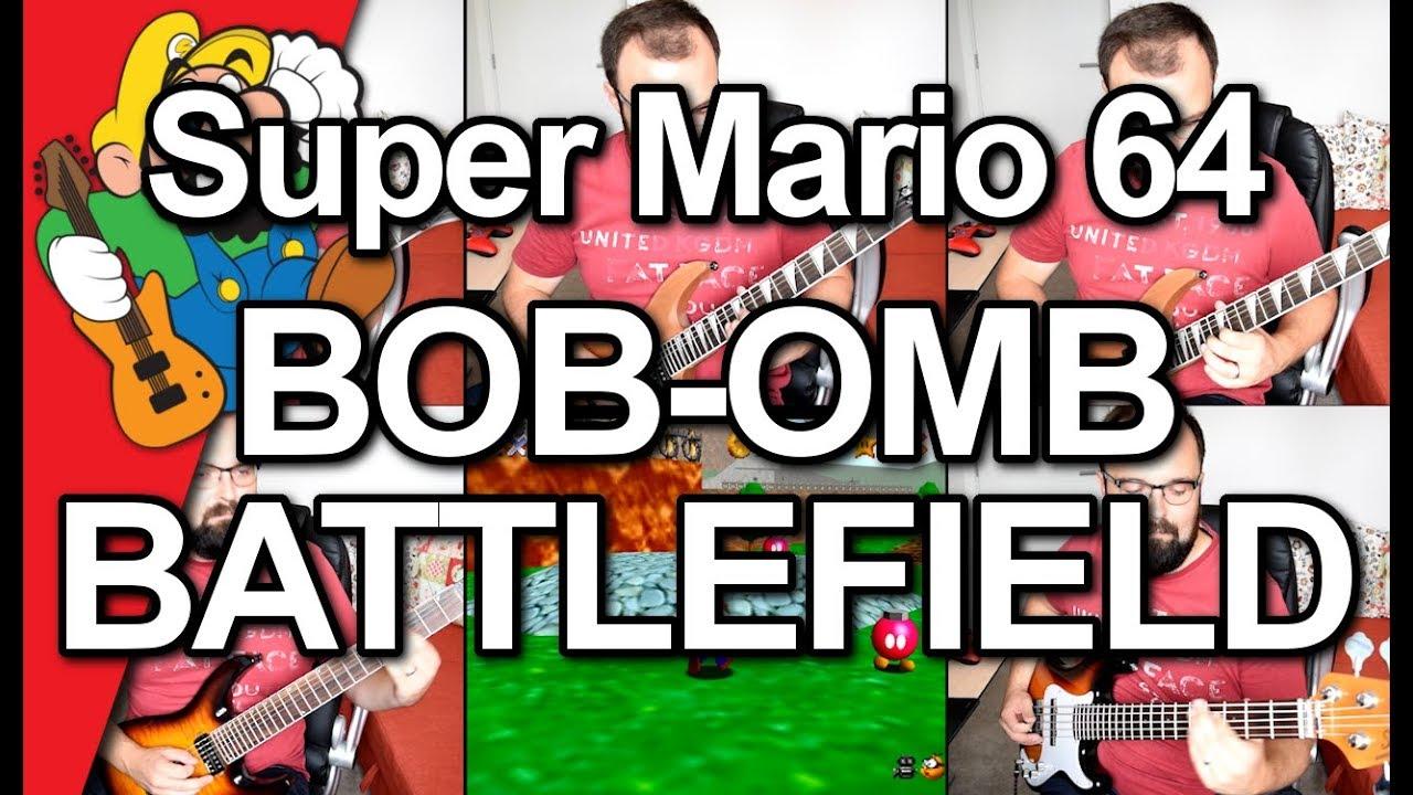 Super Mario 64 - Bob-omb Battlefield // Metal Cover