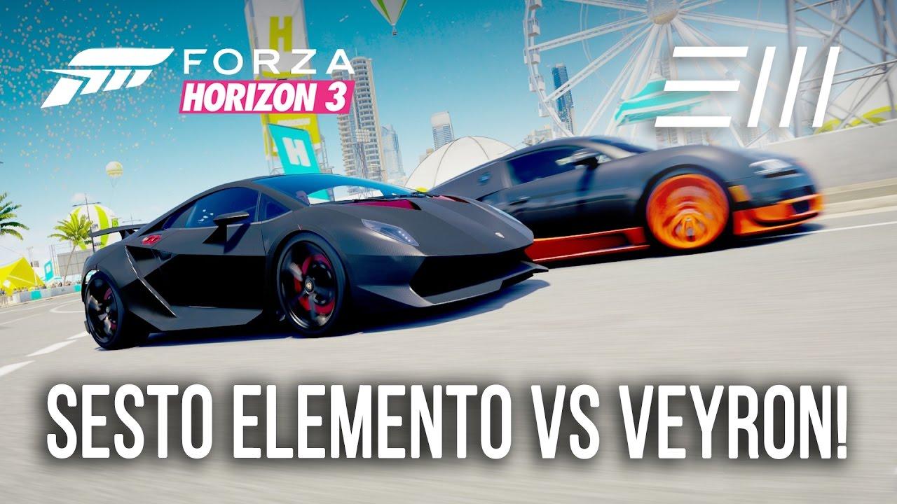 Lamborghini Sesto Elemento Vs Bugatti Veyron Ss Hot Lap Battle