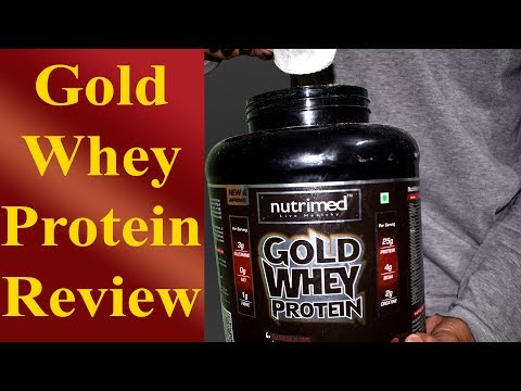 Nutrimed Gold Whey Protein & Concentrate Review | Result Photos