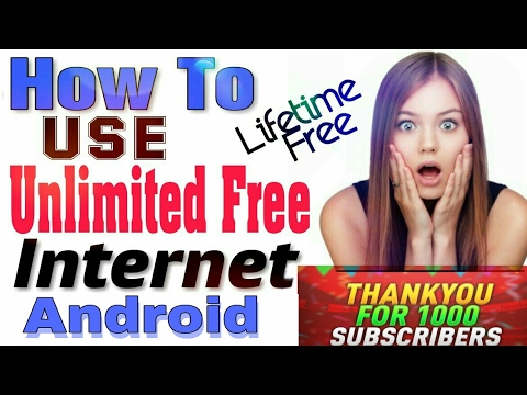 How to Use Free Internet | unlimited 3g internet for lifetime 2017(working all over India)