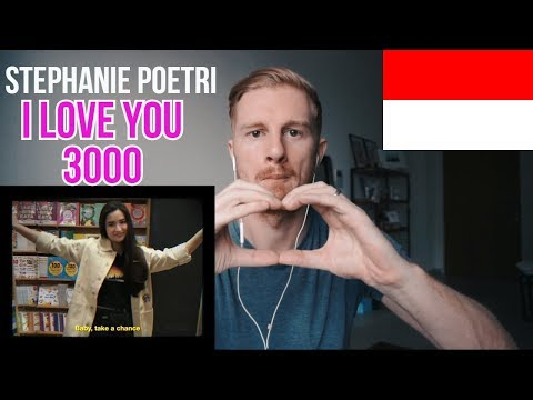 Stephanie Poetri - I Love You 3000 (Official Music Video) // INDONESIAN MUSIC REACTION