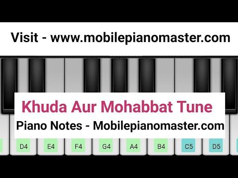 Khuda Aur Mohabbat Tune Piano|Pakistani Drama Ost| Mobile piano|Piano lessons|piano music|Theme