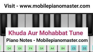 vuclip Khuda Aur Mohabbat Tune Piano|Pakistani Drama Ost| Mobile piano|Piano lessons|piano music|Theme