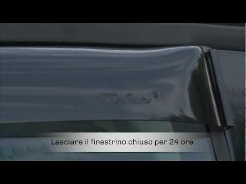 deflettori dAria Anteriori per Auto e furgoni Farad Mini Deflectors 43FI00143