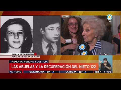 TV Pública Noticias - Estela de Carlotto sobre nieto 122