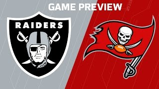 Raiders vs. Buccaneers (Week 8 Preview) | Dave Dameshek Football Program | NFL