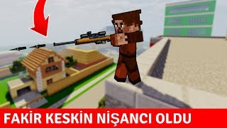 ZENGİN VS FAKİR #191 - Fakir Sniper Oldu (Minecraft)
