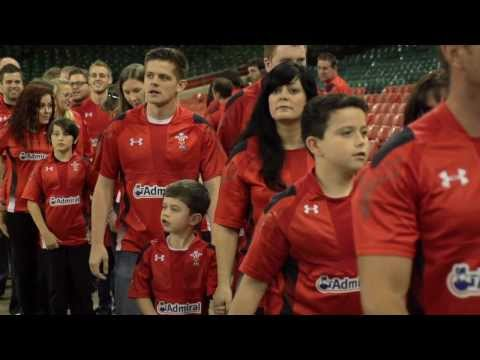 Wales Under Armour 2013/15 Rugby Kit Launch - Behind The Scenes