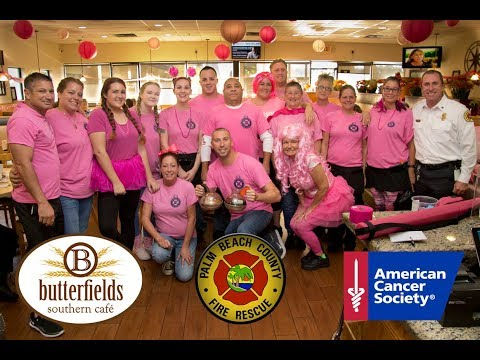 Butterfields Cancer Awareness Drive W PBC Fire Rescue 2018
