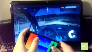 Guide: How to use phone as steering wheel to play car driving games on PC