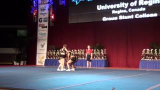 University of Regina Cheerleading - USA Collegiate Nationals 2011 - Group Stunt